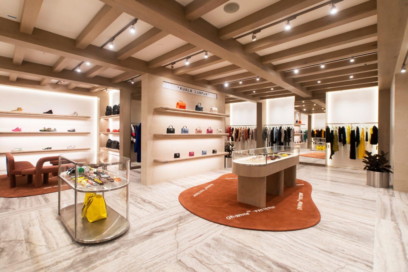 Off-White new store in Suria KLCC
